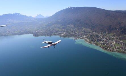 Nos 6 idées de baptêmes de l'air à faire autour d'Annecy