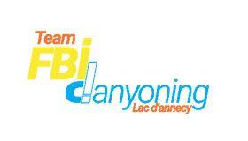 FBI CANYONING Logo