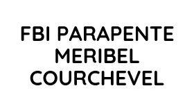 FBI PARAPENTE MERIBEL COURCHEVEL Logo