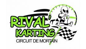 RIVAL'KARTING Logo