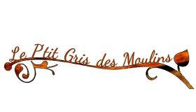 Le P'tit gris des Moulins Logo