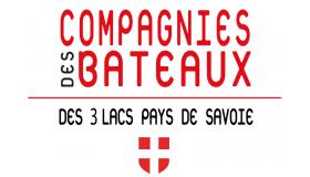 Les Compagnies des Bateaux des 3 lacs Pays de Savoie Logo