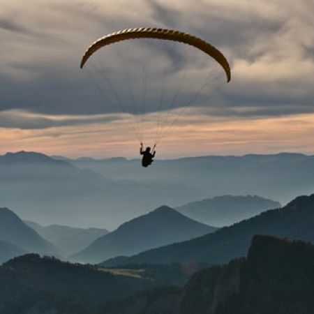 Parapente - initiation en double commande