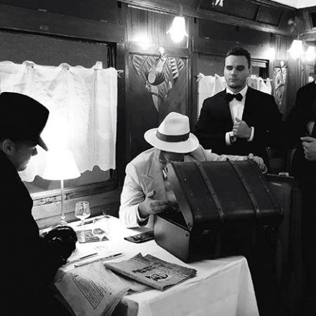 """Soirée """"Crime de l'Orient Express"""""""