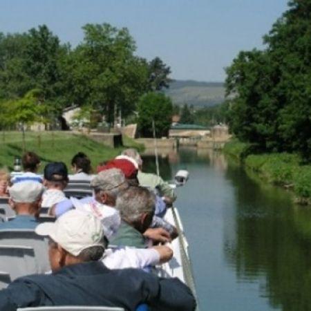 Croisière Saône confluence Seille