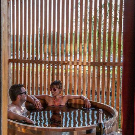Une nuitée en cabane-spa duo