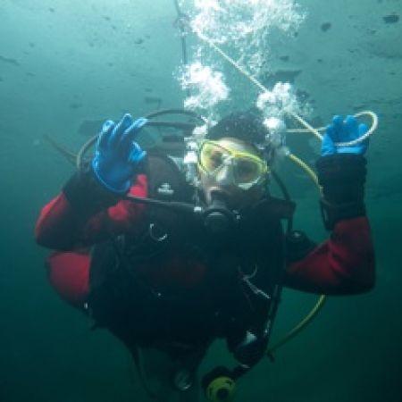 Formation Ice Diver à Montriond