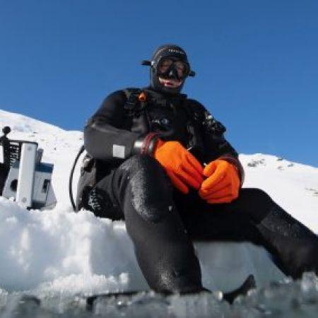 Plongée sous-glace individuel à Courchevel