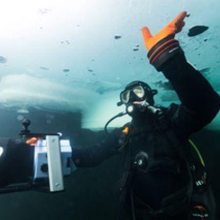 Plongée sous-glace individuel à Montriond