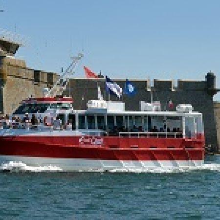 Croisière commentée sur la rade de Lorient, ville aux 5 ports
