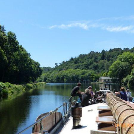 Journée sur le canal du Blavet avec nuits à bord