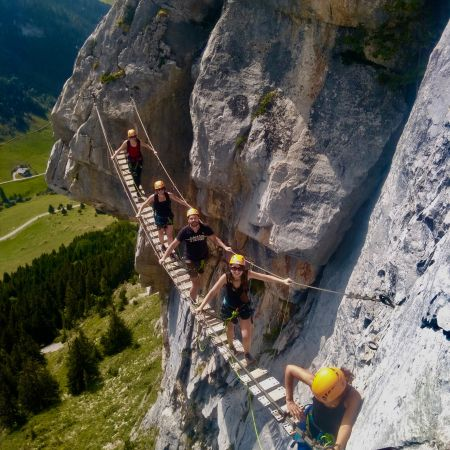 Via Ferrata à La Clusaz