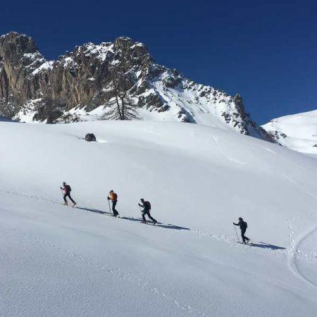 Initiation ski de randonnée en Clarée avec nuits en refuges