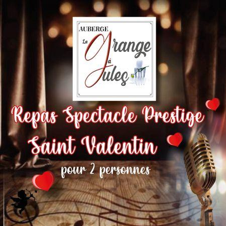 Bon Cadeau Repas spectacle prestige Saint Valentin pour 2 personnes