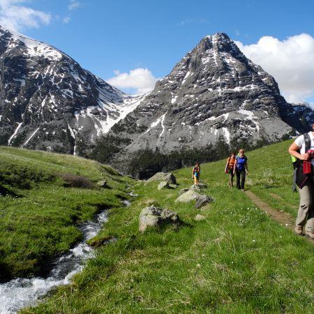 Randonnée gourmande dans les Alpes du sud