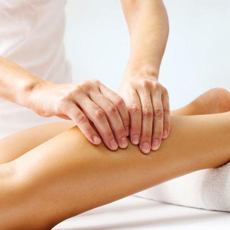 Drainage lymphatique jambes