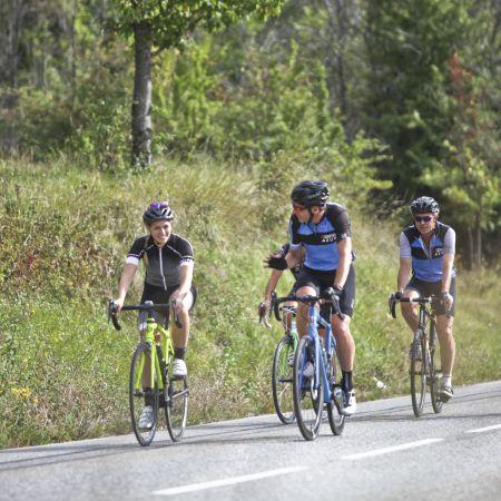 Un stage cycliste