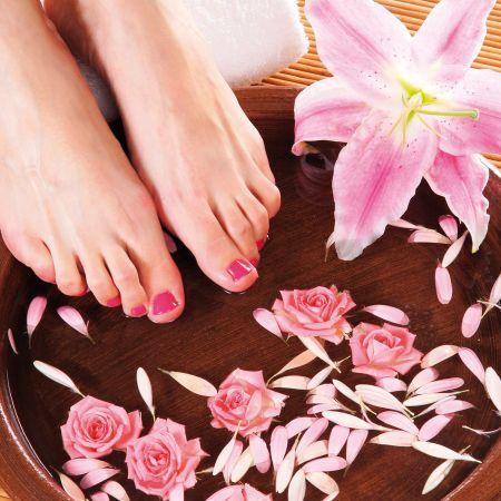 Beauté des pieds et vernis semi-permanent