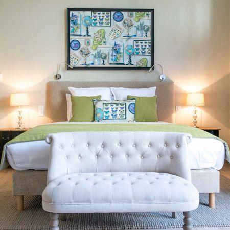Les Suites du 33 - Chambre Double de Luxe avec Terrasse