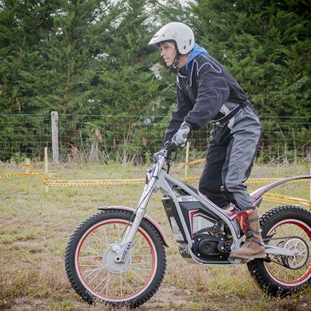 Découverte moto trial électrique