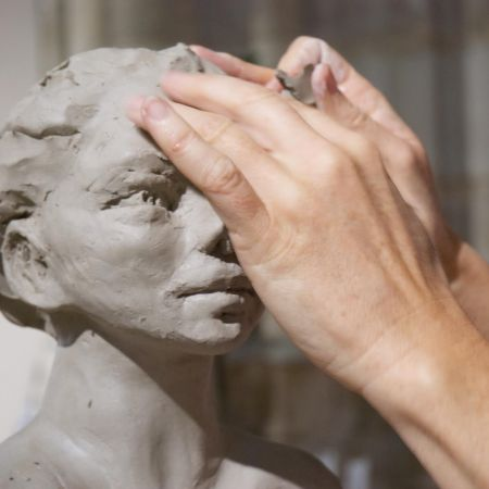 """Stage terre """"Sculpture d'un Portrait"""""""