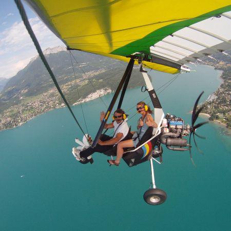 Vol ULM - Tour du Lac d'Annecy (30mins)