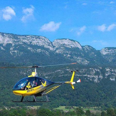 Vol en Hélicoptère - La Grande Odyssée - Survol Haute-Savoie