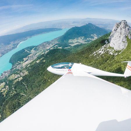 Vol planeur - Lac d'Annecy