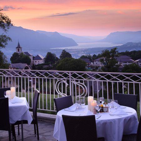 Dîner Romantique sur les hauteurs du Lac du Bourget