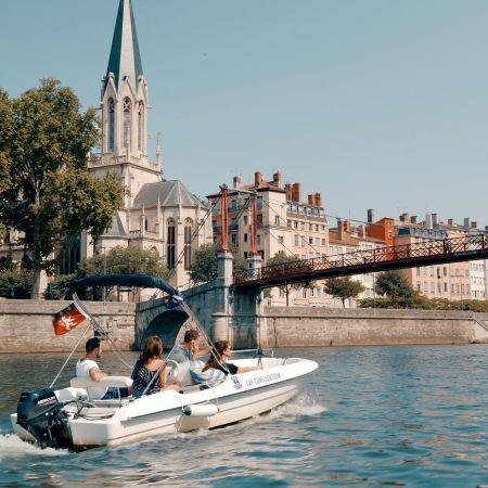 Une journée de bateau sans permis 10 places