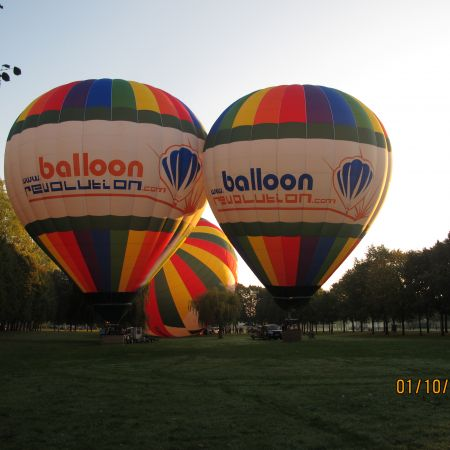 Vol en montgolfière : VIP