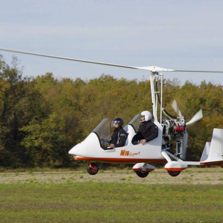 Initiation au pilotage ULM autogire ou pendulaire - 1h30 d'activité et 45 mn de vol
