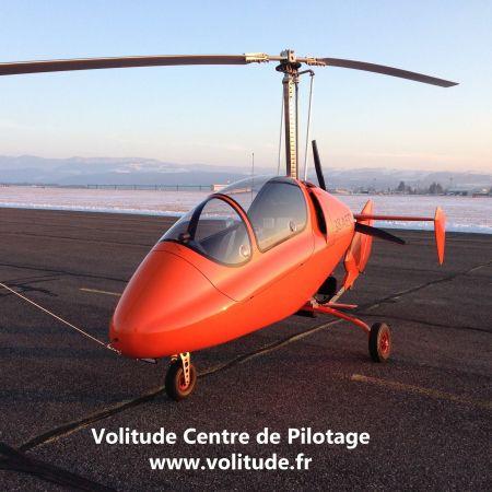 Vol initiation au pilotage gyrocoptère de 30 minutes