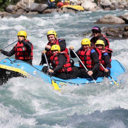Rafting sur l'isère - Intégrale (2h30)