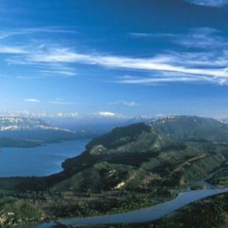 Promenade en avion : Nivolet / Revard / Lac d'aix-les-bains