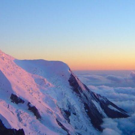 Promenade en avion : Mont-Blanc