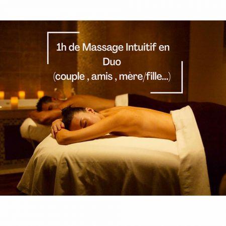 Massage Intuitif en DUO (1h)