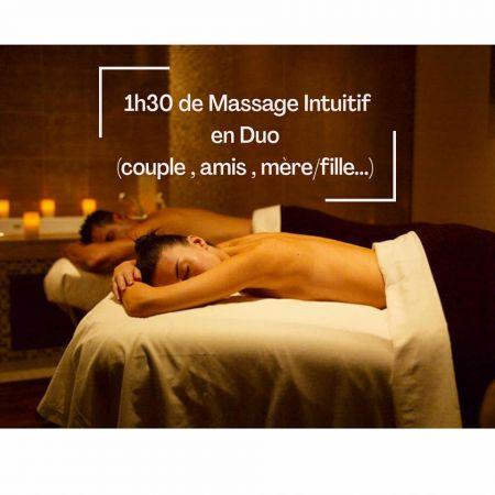 Massage Intuitif en DUO (1h30)
