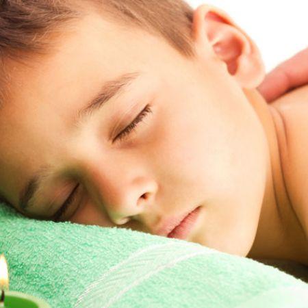 Massage bien-être pour Enfants ou Adolescents (30 min)