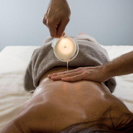 Massage à la Bougie parfumée (1h)