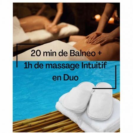 Forfait 20min de balnéo + 1h de massage en DUO