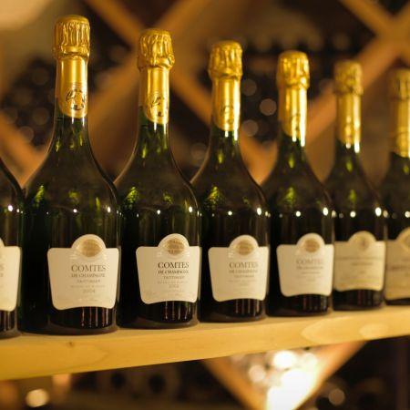 Verticale prestige - Comtes de Champagne Taittinger