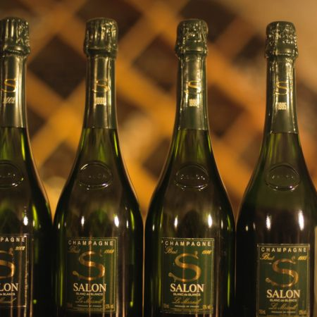 Verticale prestige Champagne Salon