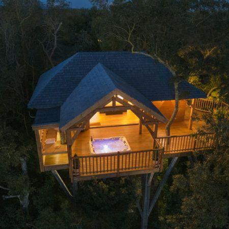 Séjour romantique - Cabane de Prestige avec Jacuzzi et Sauna privatifs