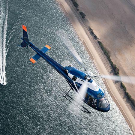 Survol en hélicoptère Dune du Pilat