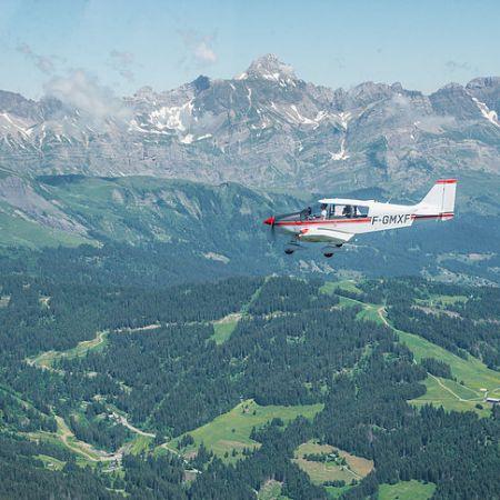 Baptême de l'air en avion - Circuit Aravis (30 min)