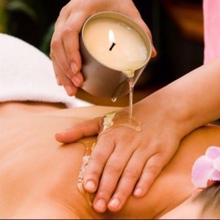 Massage duo à la bougie durée au choix