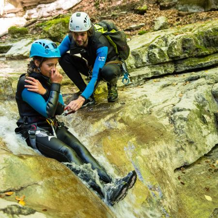 Canyoning - Boîte aux lettres d'Angon