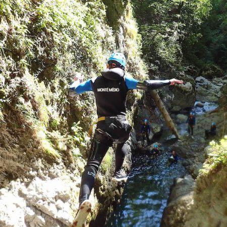 Canyoning Sportif à Montmin