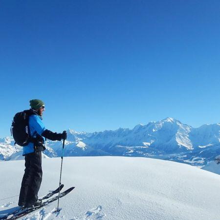 Ski de randonnée dans les Aravis